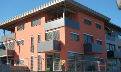 Neubau Doppelhaus in Tisens