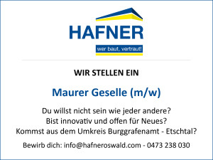 2015 11 Geselle - Hafner Bau   Baufirma   Meran   Schlüsselfertig   Bauunternehmen